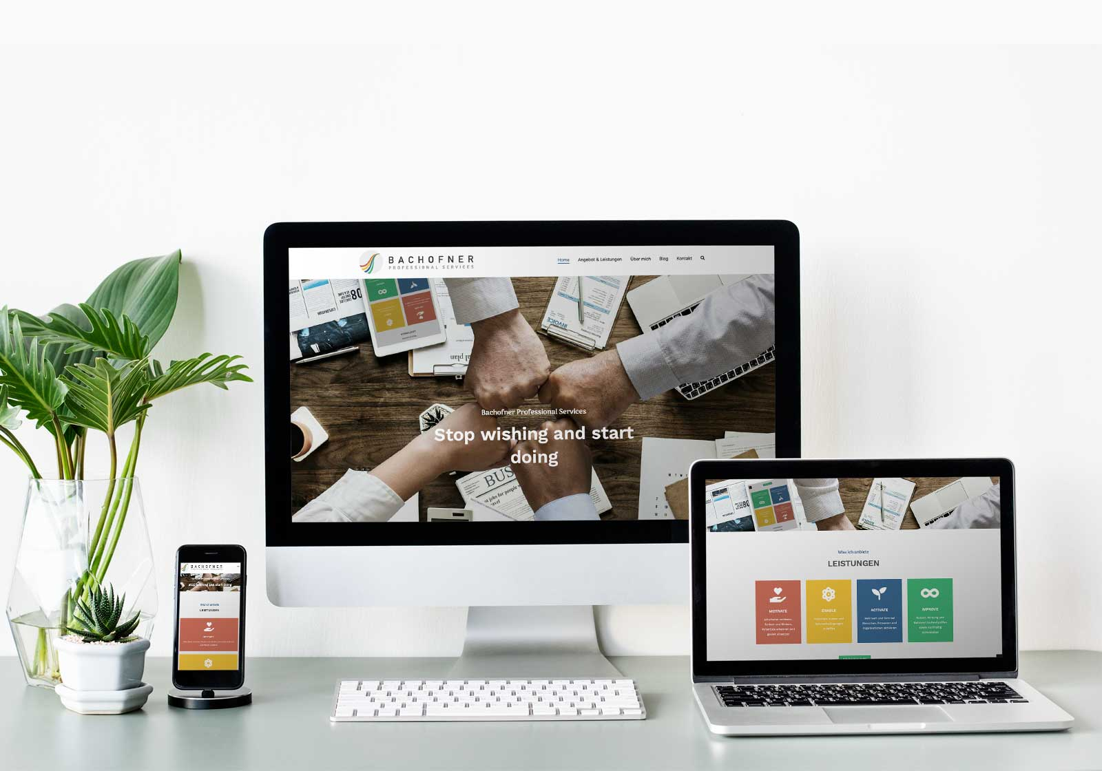 Website Bachofner Professional Servoces